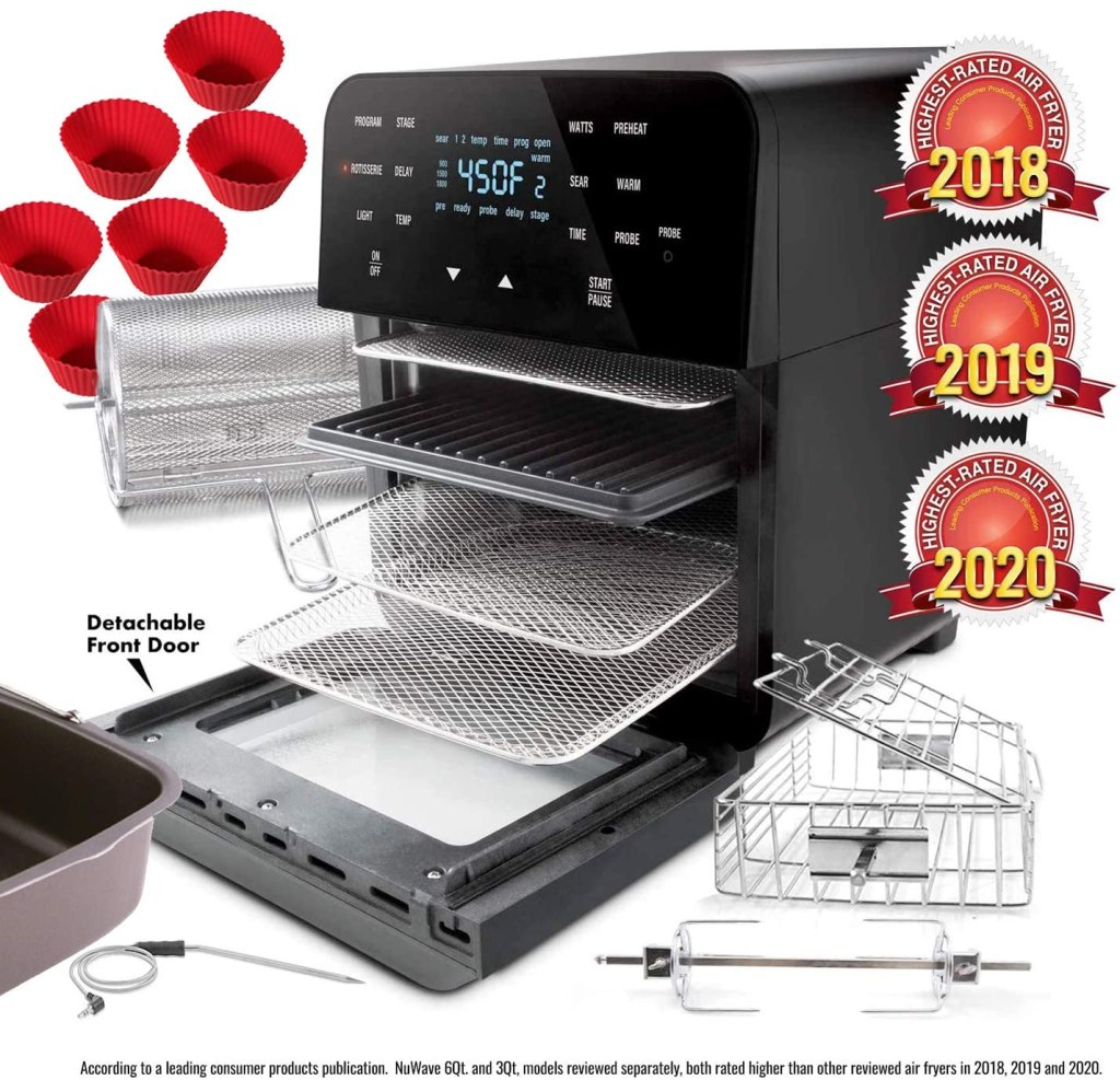 NUWAVE Brio 14 qt. Toaster Oven