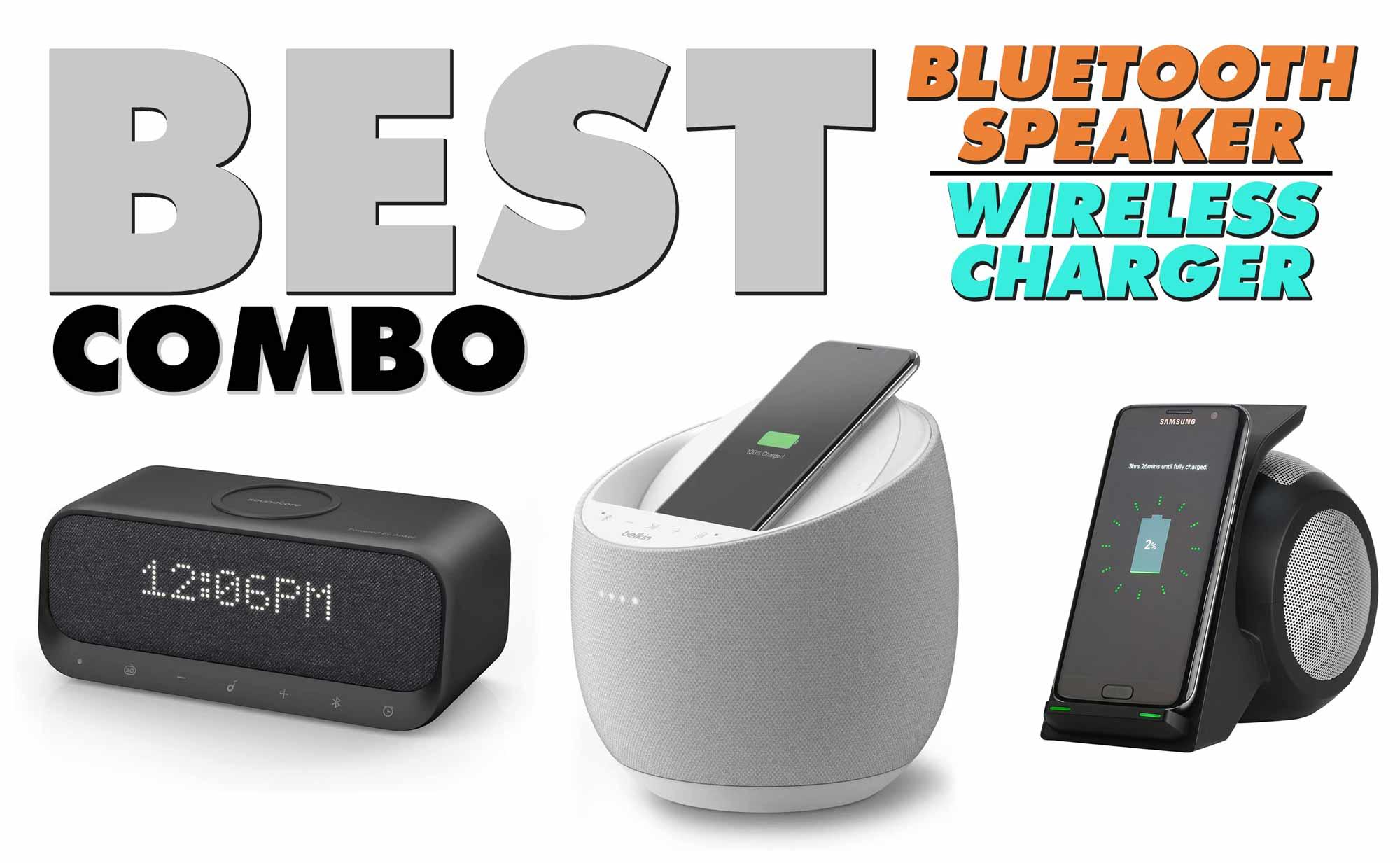 Best Bluetooth Speaker With Wireless Charger 2021 | Belkin VS Anker