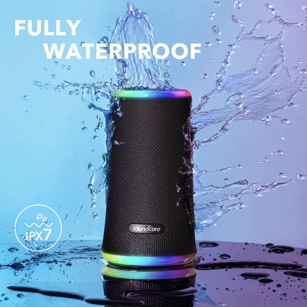 Anker-Soundcore-Flare-2-Water Resistance