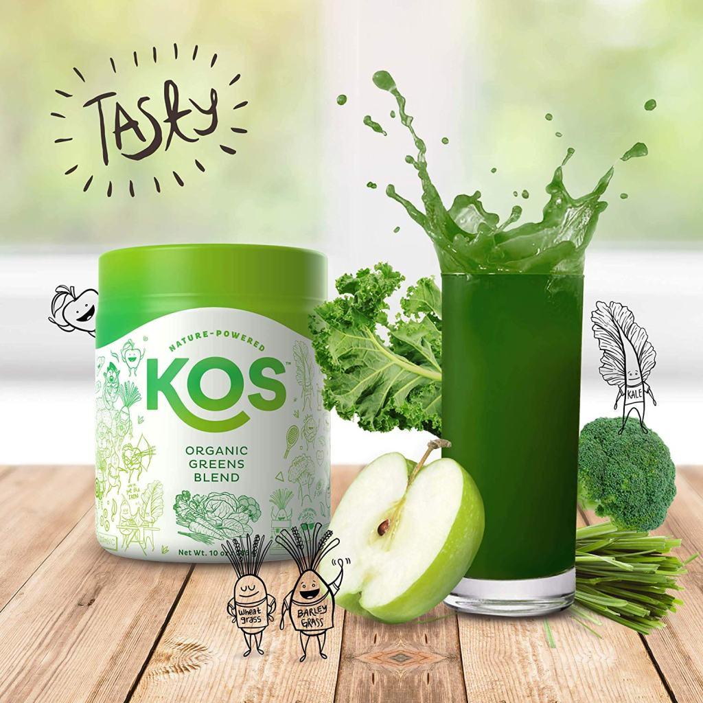 KOS Superfood Powder - Best Green Juice Substitute