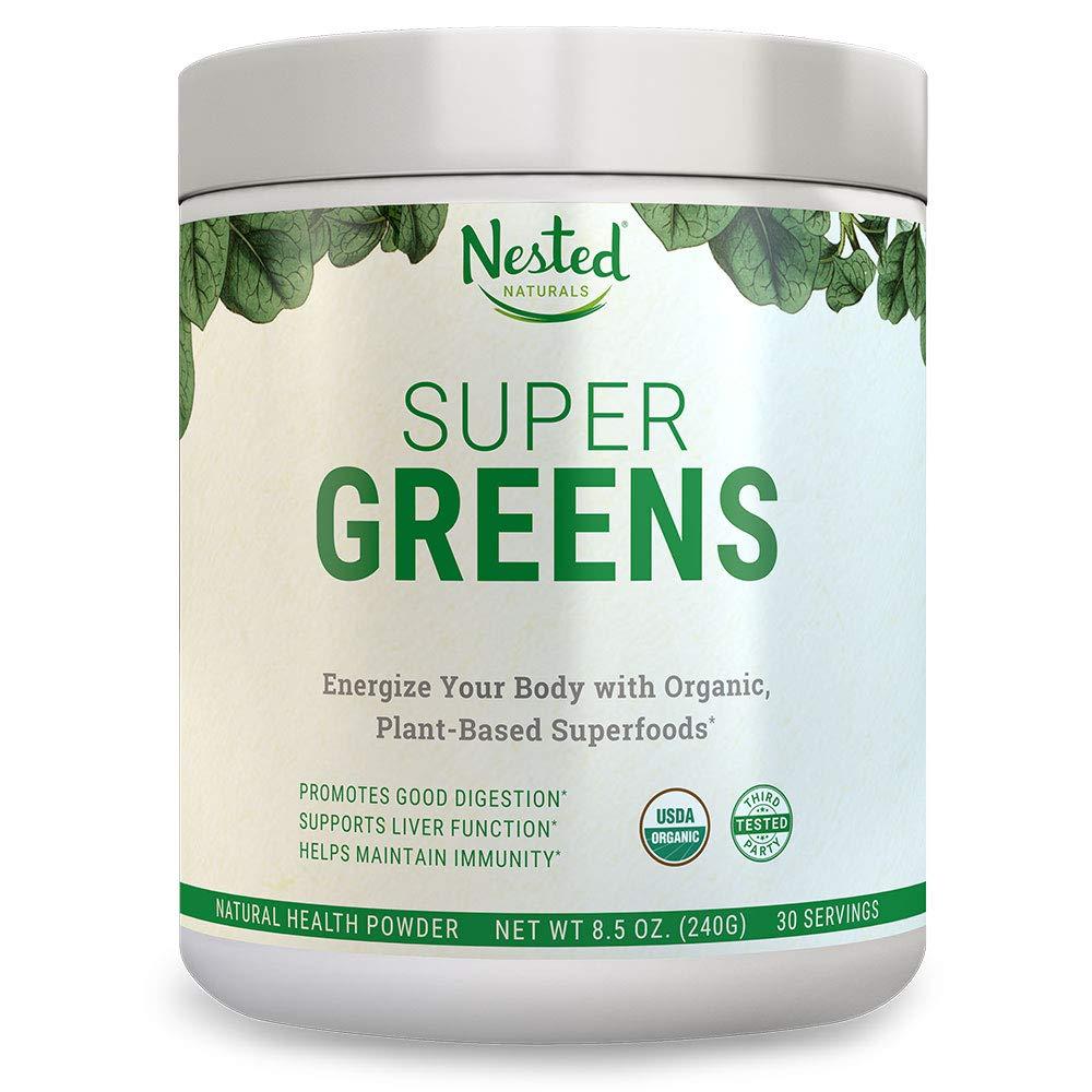 Nested Naturals Superfood Powder - Super Greens