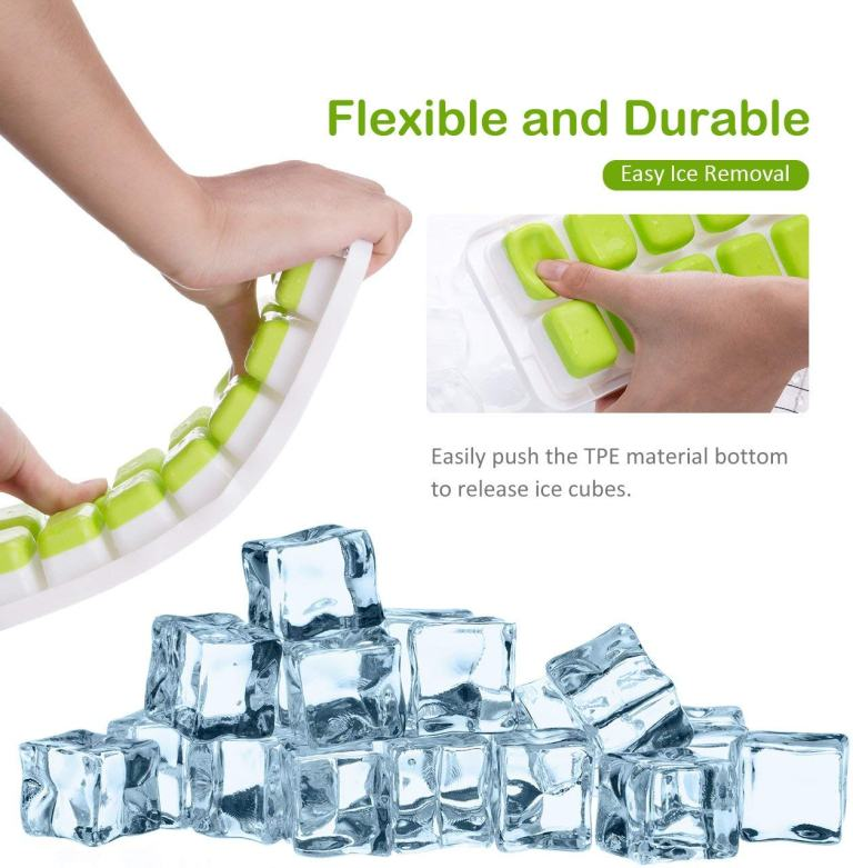 OMorc Ice Cube Trays | Easy Ice Removal