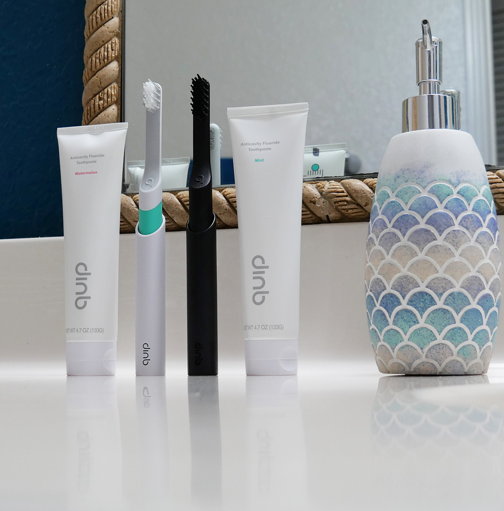 Quip Electric Toothbrushes and Toothpaste