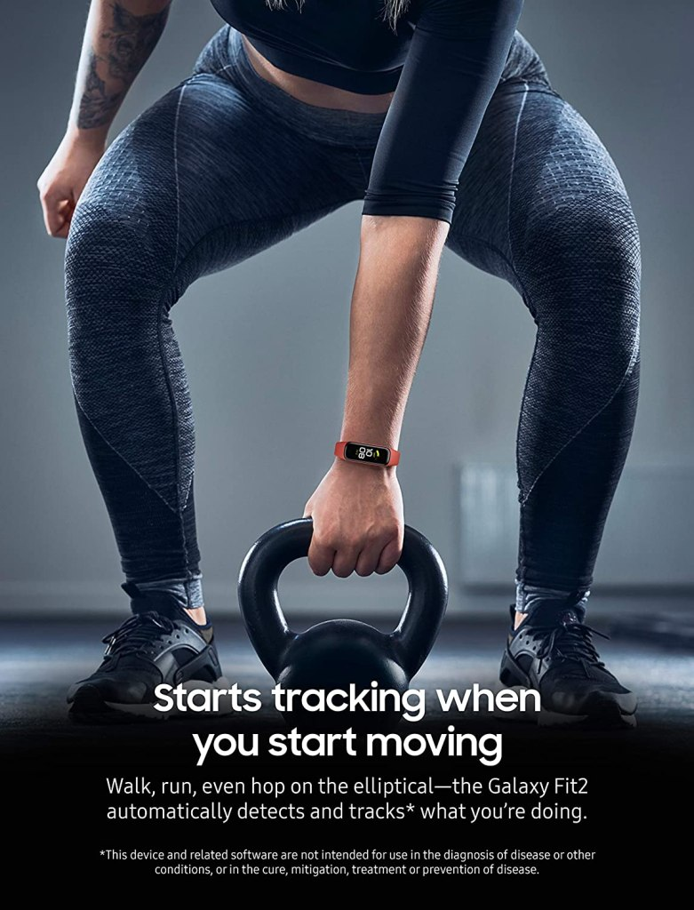Samsung Galaxy Fit 2 - Auto-Detect Workouts