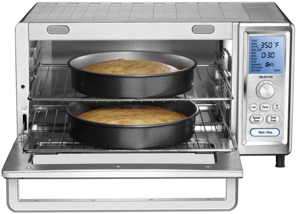 Cuisinart Chef's Convection Toaster Oven Cuisinart Chef's Convection Toaster Oven - Dual-Rack Baking- Dual-Rack Baking