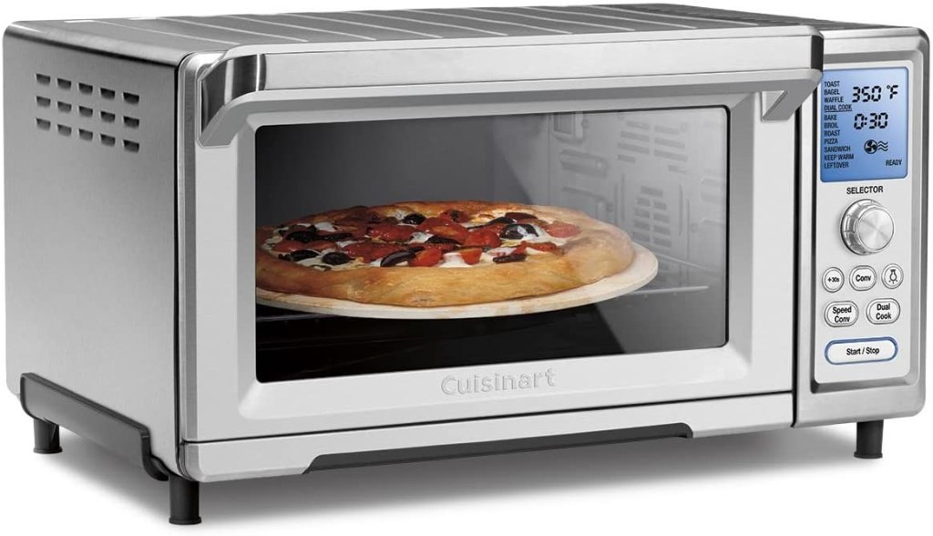 Cuisinart Chef's Convection Toaster Oven PIZZA Cooking Function
