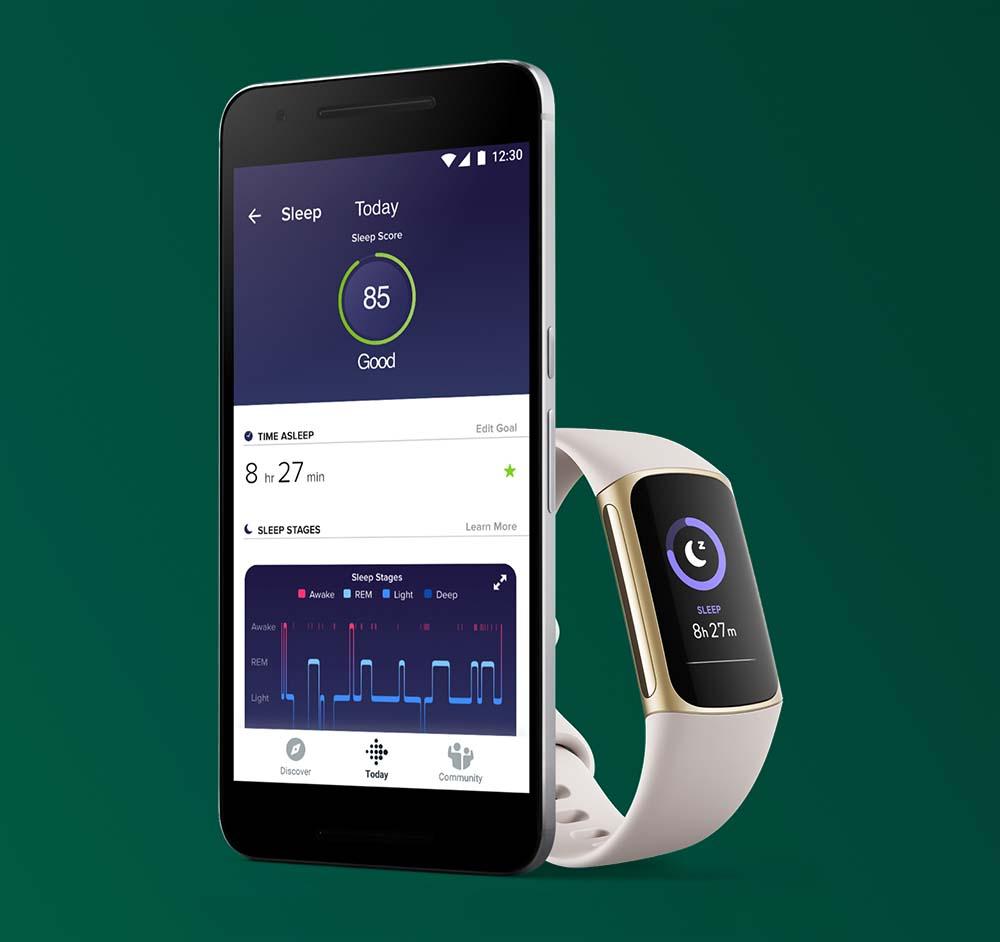 Fitbit Charge 5 - Advanced Sleep Tracking