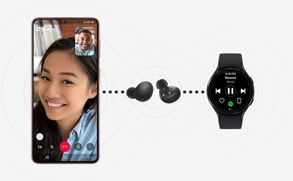 Samsung Galaxy Buds 2 - Dual Connect
