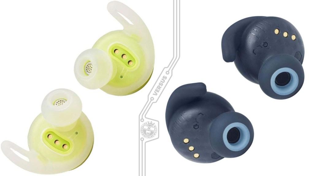 JBL Reflect Flow vs Reflect Mini - Powerfin Ear wings