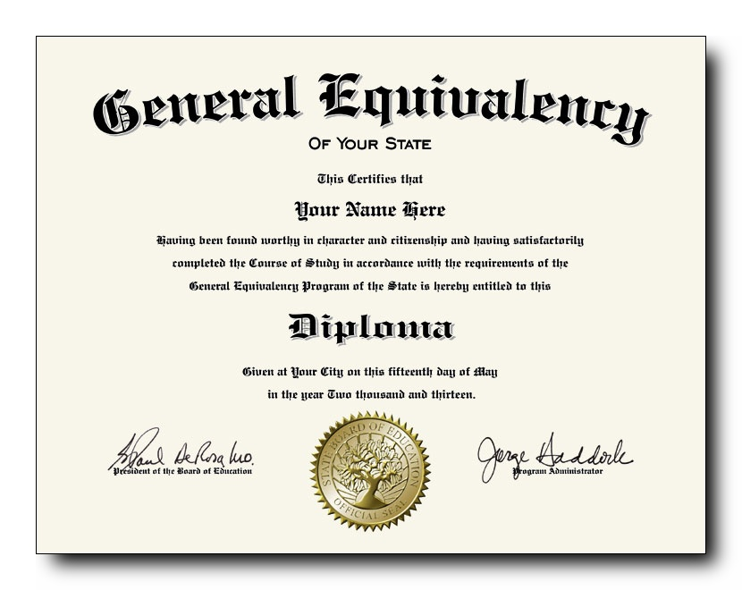 ged certificate diploma fake rock degree pull spot between hard place believably break admin posted superior