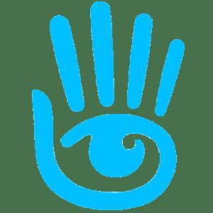Second Life Hand Logo background transparent