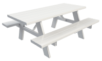 High Quality Vinyl Picnic Tables - Superior Plactic Products