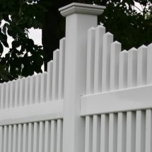 England Vinyl Picket Fence - Superior Plastic Products
