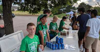 scouts serving refreshments