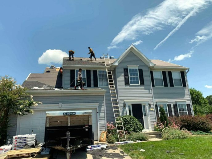 Manchester MD Roofing Contractor Superior Services of PA & MD got this full roof replacement approved by insurance and paid for. We installed a brand new lifetime GAF roofing system.
