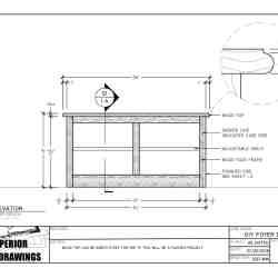 SSD-DIY-004 - Foyer Bench