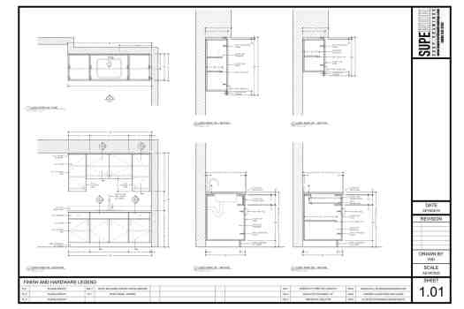 Superior Shop Drawings - Millwork Shop Drawings PDF Submittal