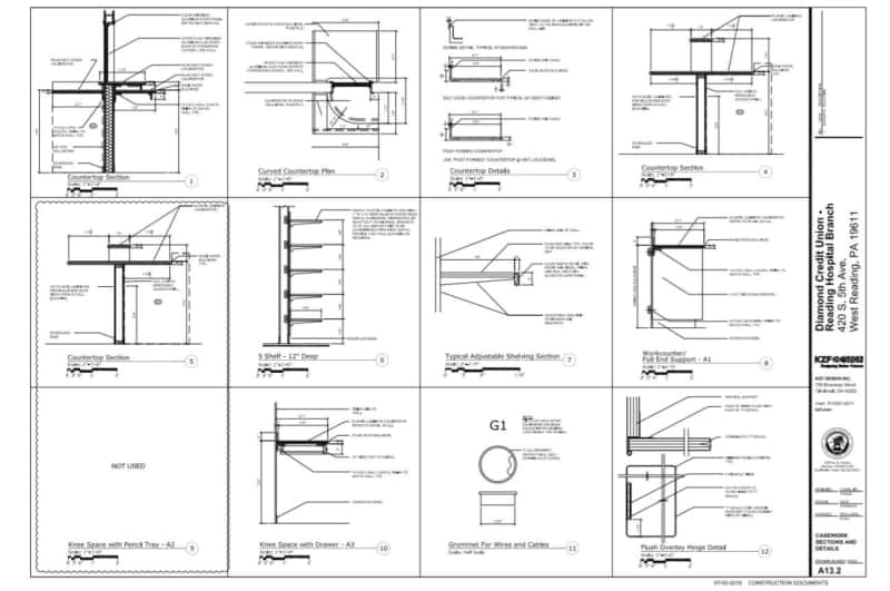 Read Architectural Drawings - Section View
