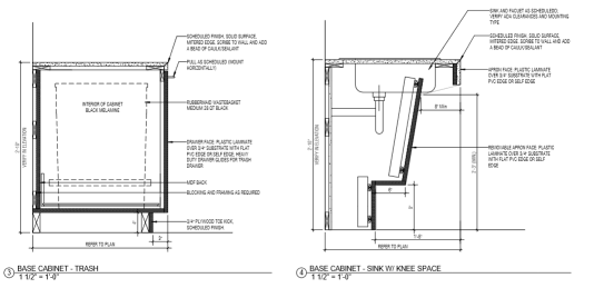 Architectural Drawing example