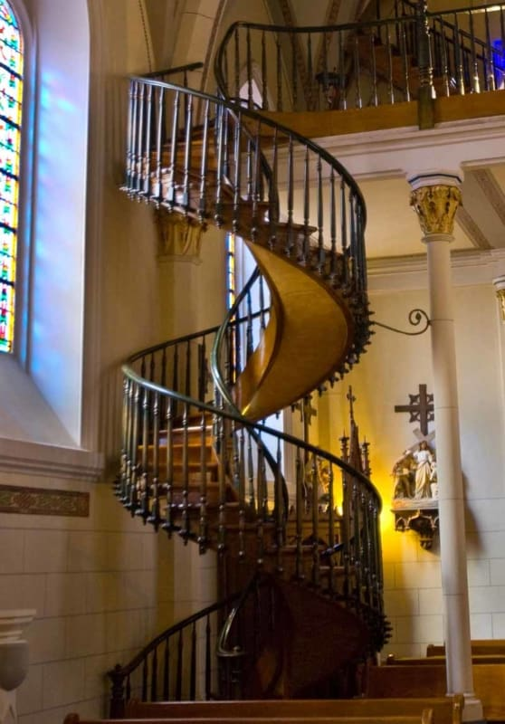 The mysterious millwork in the Loretto Chapel
