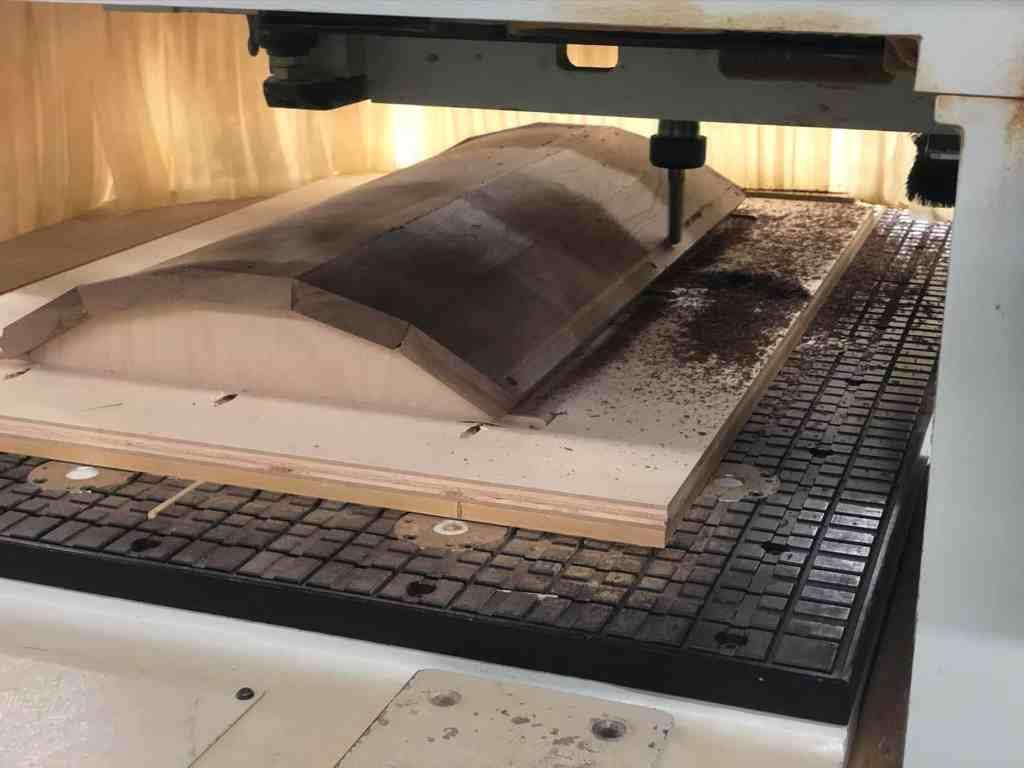 5-Piece Radius Door - CNC Machining