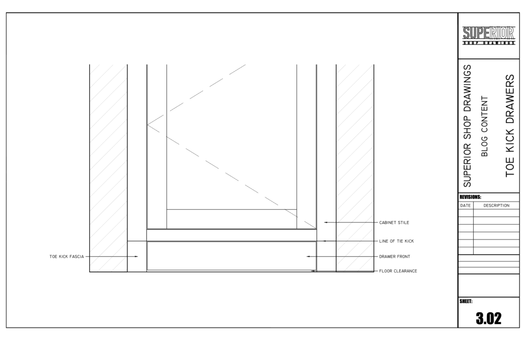 Superior Shop Drawings - Elevation 1