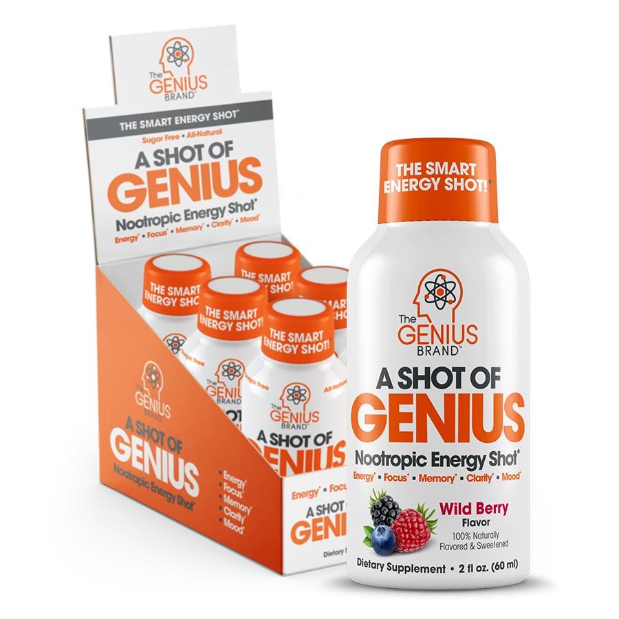 The Genius Brand A Shot of Genius (30ml) 6pk