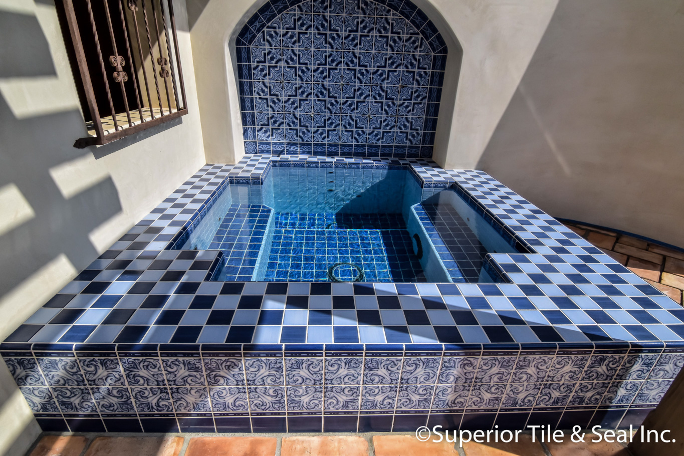 pool and spa tile superior tile