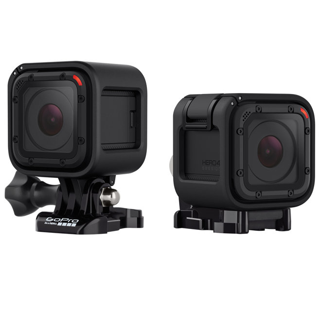 GoPro launches compact, single-button Hero4 Session camera with iPhone