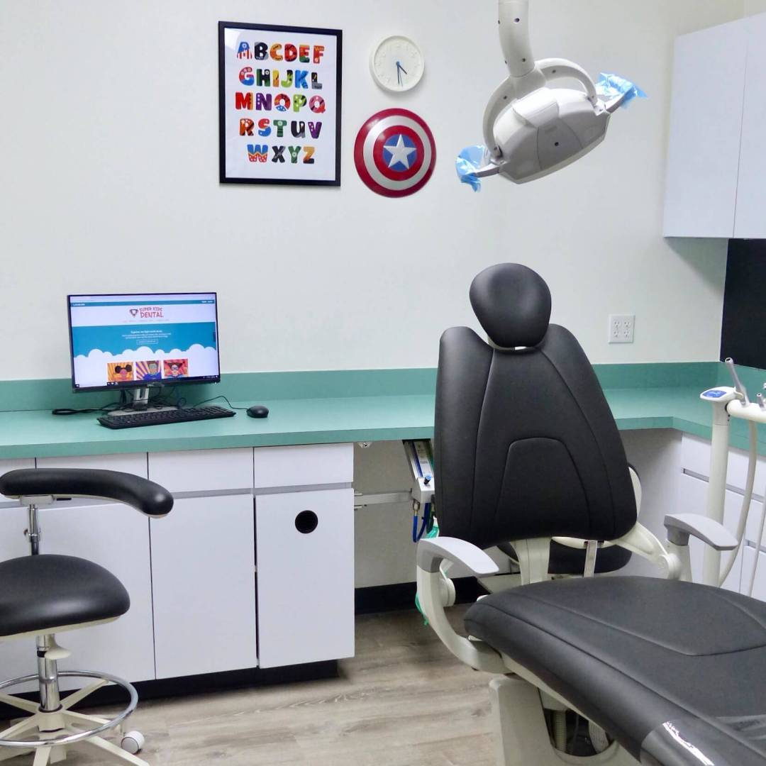 Our recently renovated dental office is welcoming to kids and their families.