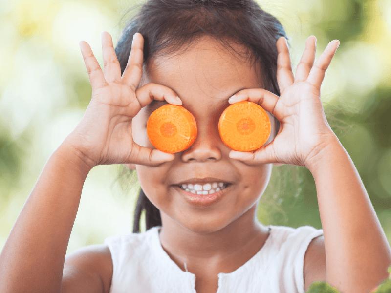 Carrots help teeth too