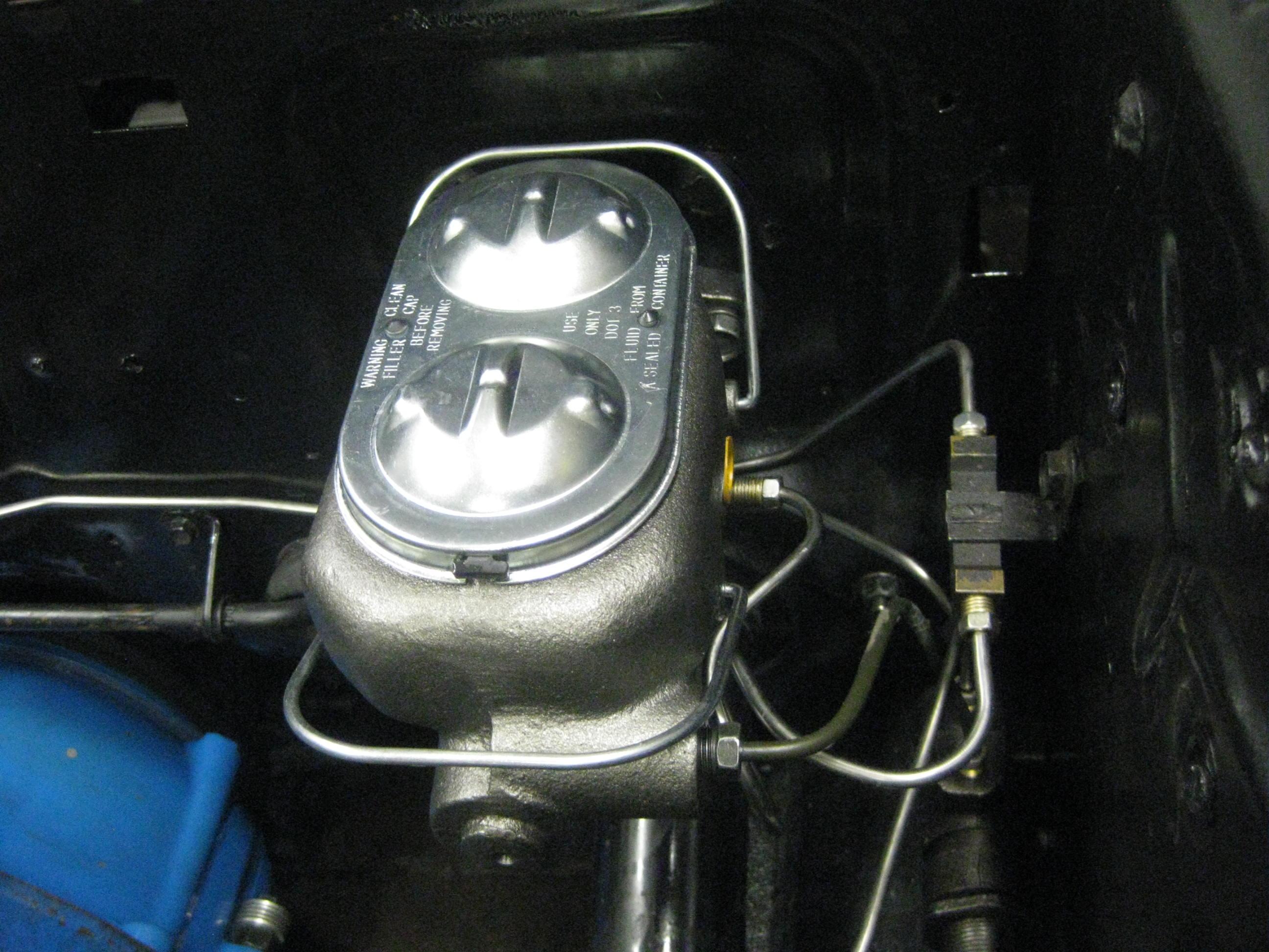 Parking Brake System Diagram For A 1966 Corvette