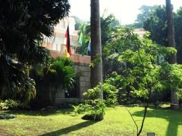 Gebäudefassade der Escola Alemã Corvovado (Deutsche Schule in Rio de Janeiro)