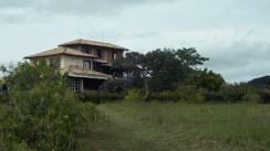 Rückansicht des Haupthauses unserer Unterkunft