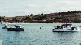 Fischerboote auf Marsaxlokk