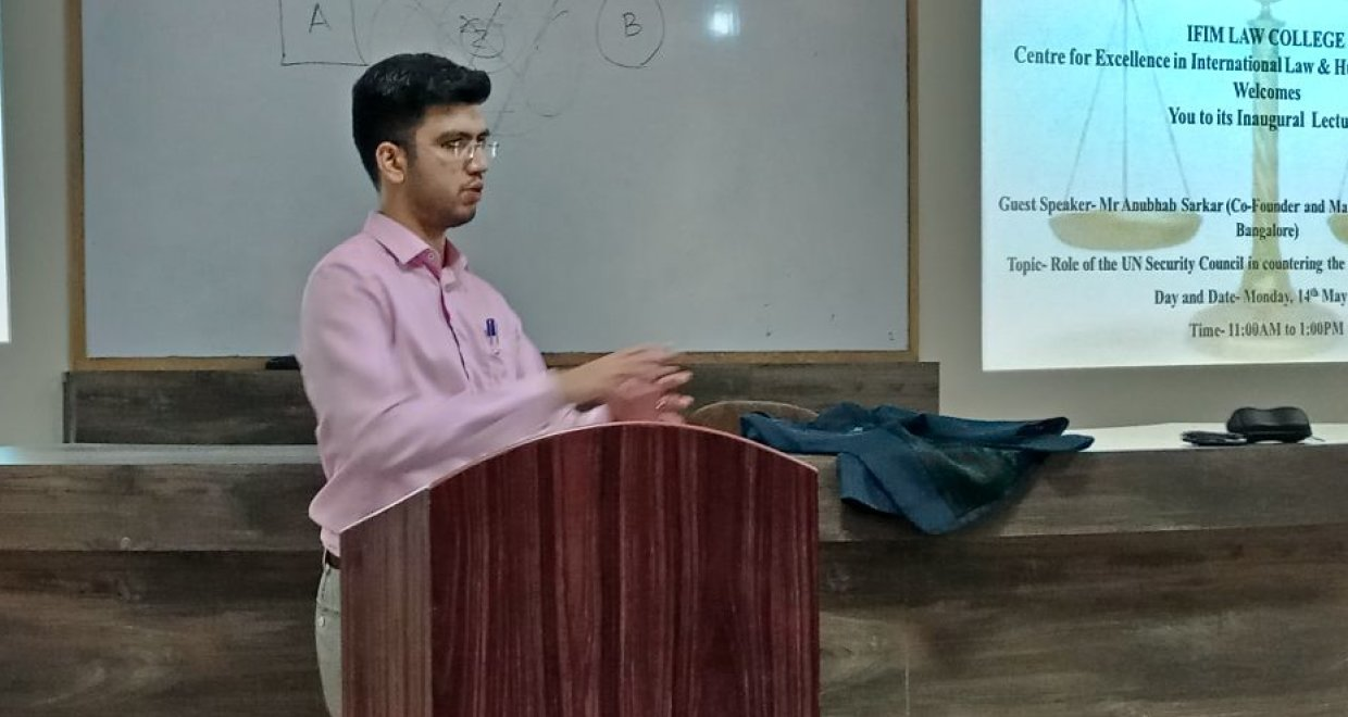 Anubhab Sarkar Cofounder Triumvir Law on starting his own law firm and a successful career in