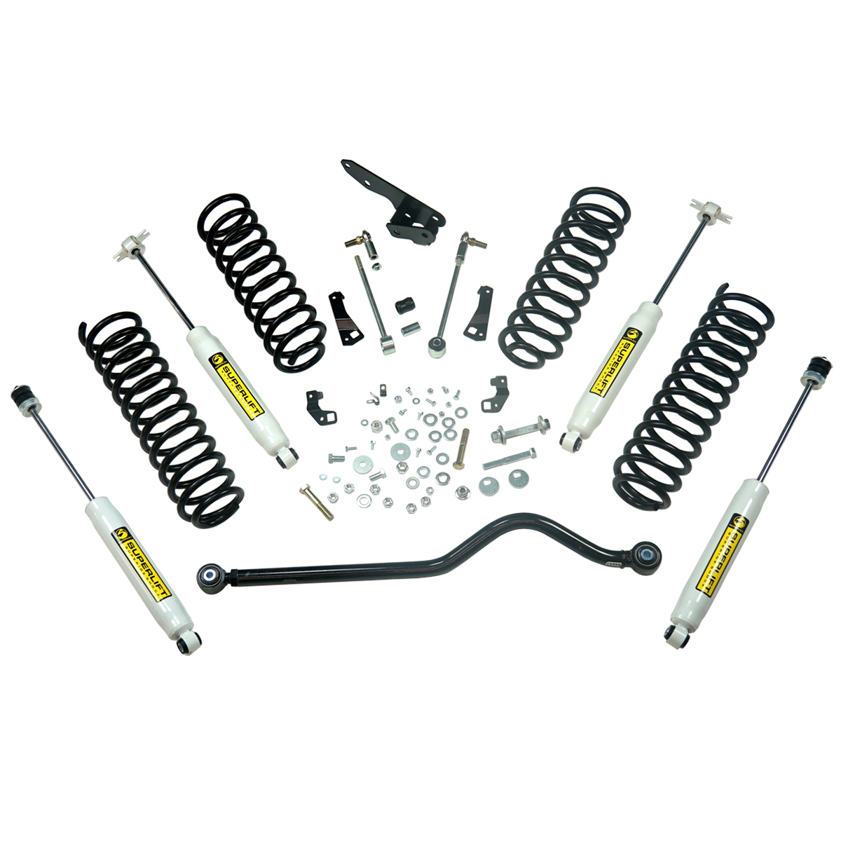 4 Standard Lift Kit 07 18 Jeep Wrangler Jk Unlimited