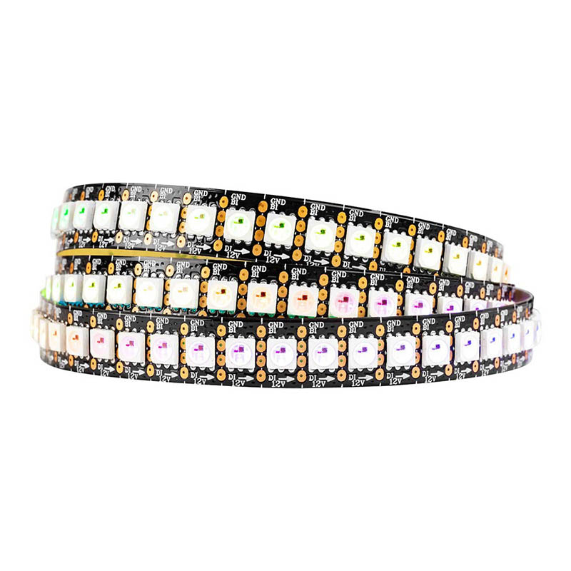 hight resolution of dc12v ws2815 upgraded ws2812b 1m 144 leds individually addressable digital led strip lights