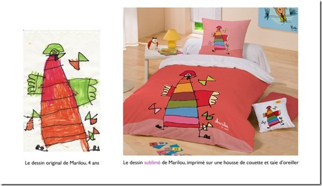 couette personnalisee