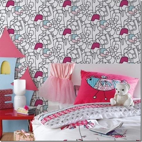 les enfants colorient les murs superlipos s. Black Bedroom Furniture Sets. Home Design Ideas