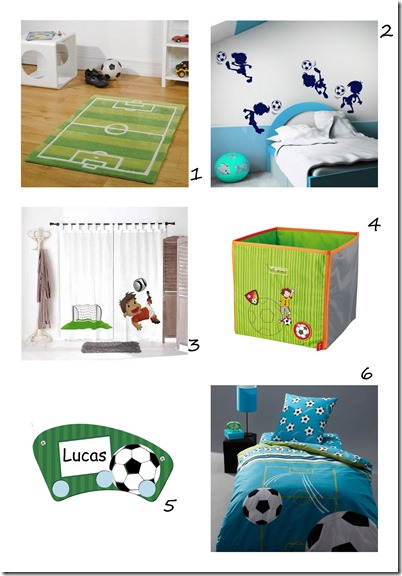 shopping déco foot junior