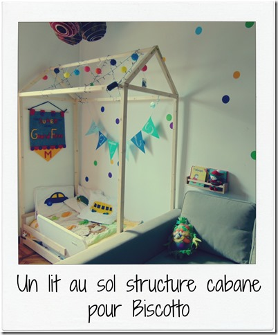 diy lit au sol structure cabane ikea hack. Black Bedroom Furniture Sets. Home Design Ideas
