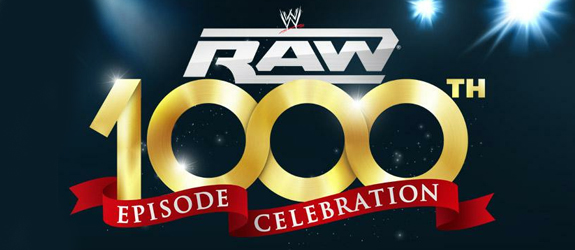 WWE RAW 1000TH Episode Celebration