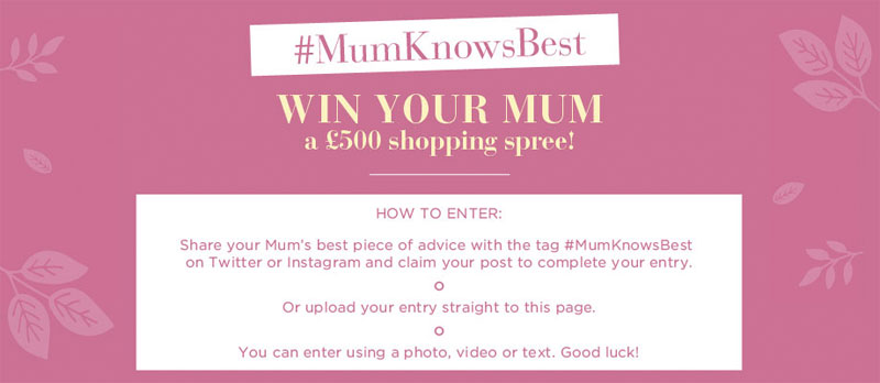 Mothers Day competitions 2015 | SuperLucky