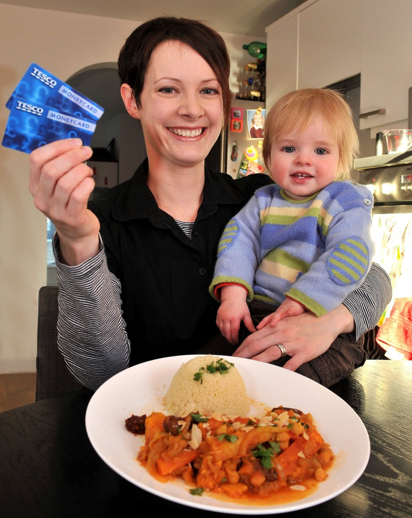 Winning £1000 Tesco vouchers just before Christmas was excellent timing!