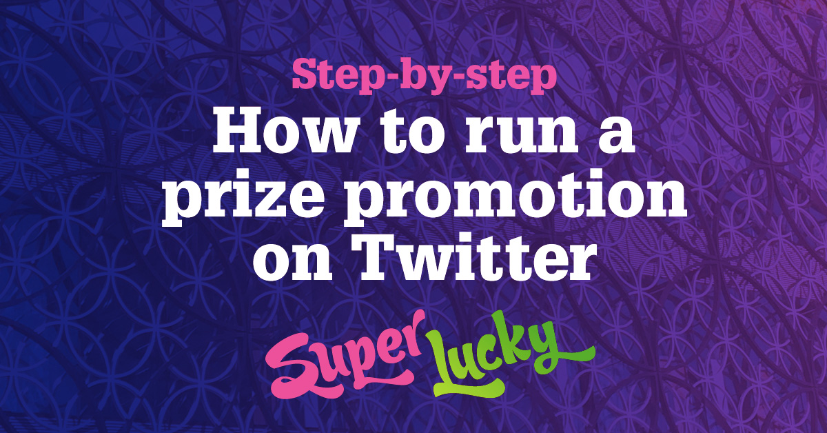 efedf2a6d How to run a Twitter giveaway