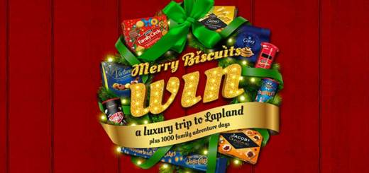 Merry Biscuits Grotto Promotion