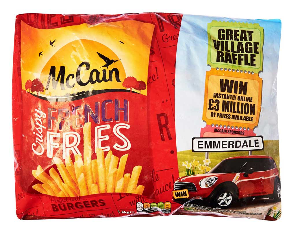 McCain Great Village Raffle - how many prizes were given away?