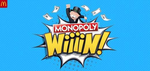 McDonalds Monopoly Wiiiin 2018