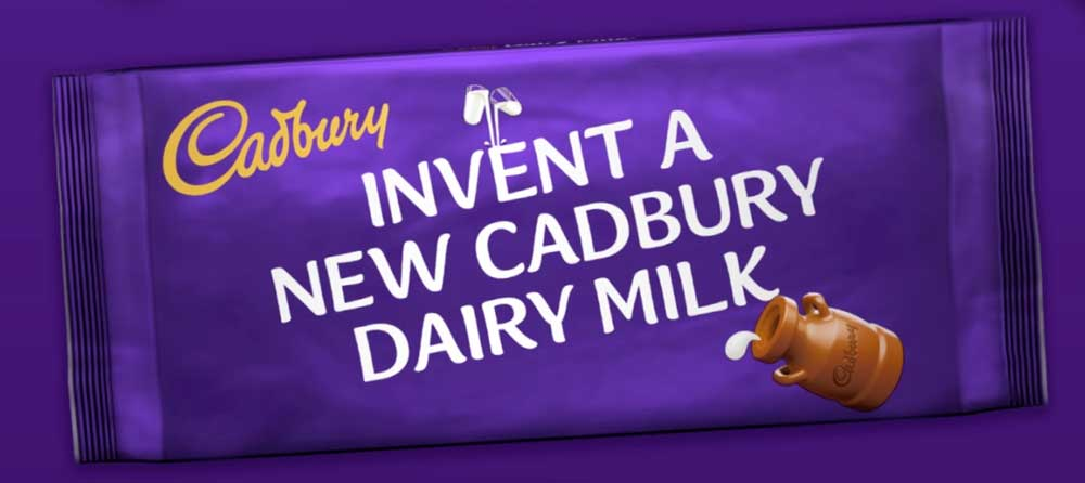 Invent a new Cadbury Dairy Milk Bar!